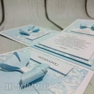 telegram kartki białe eleganckie ślubne eksplodujące