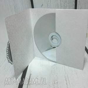 etui kartki szare na płytę cd/dvd zamykane