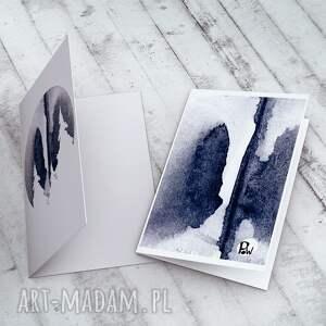 prezent świąteczny kartki góry - karteczka na świąteczne