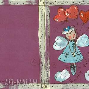 wyjątkowe kartki happy valentinas day