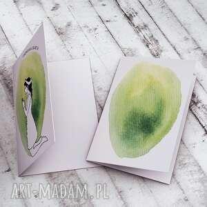 żółte kartki kartka i komunia św. - karteczka