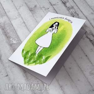 pomysł na prezent święta i komunia święta... karteczka