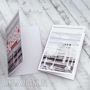 pomysł na prezenty święta kartki karteczka zdobiona autorską