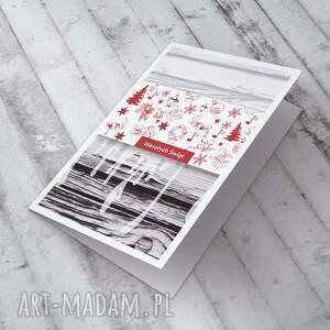 pomysł na prezenty święta świąteczne karteczka zdobiona autorską