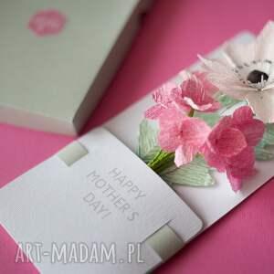 prezent kartki karteczki 3d dla na dzień matki