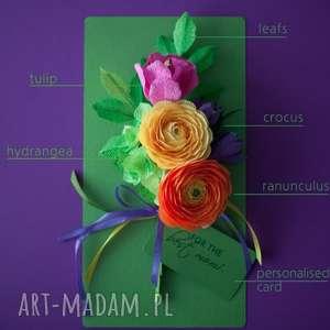 handmade kartki dzień karteczki 3d dla mamy