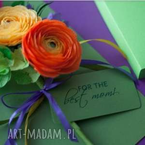 kartki papier karteczki 3d dla mamy. na dzie&#324