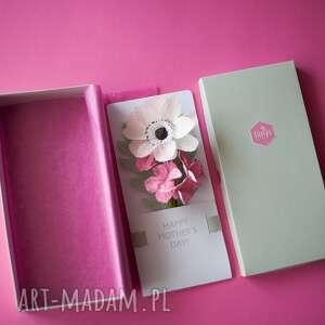 kartki prezent karteczki 3d dla na dzień matki