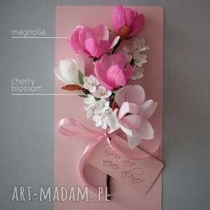modne kartki karteczki 3d na prezent na dzień