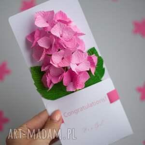 handmade kartki gratulacje personalized new baby girl card