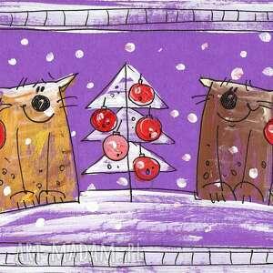 pomysł na prezent świąteczny karti świąteczne - 10 11 12