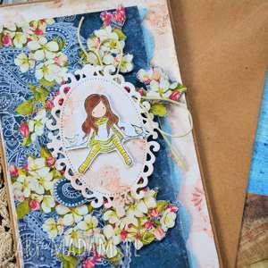kartki kartka dla kobiety romantycznej lub dziewczynki