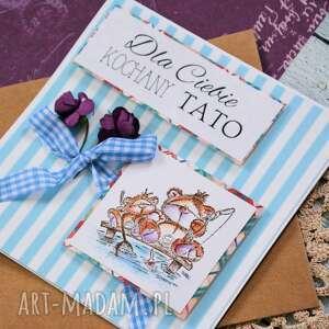 kartki stempel kartka - dla ciebie kochany tato