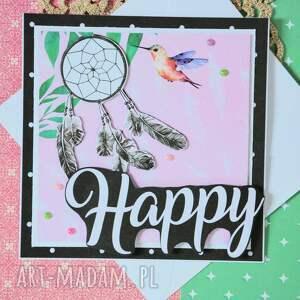 kartki kobieta kartka - happy (1)