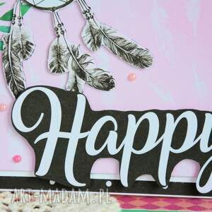 kartka kartki białe - happy (1)