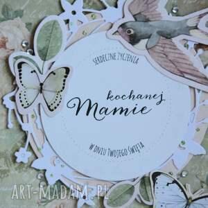 kartka kartki zielone - kochanej mamie (1)