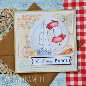 kartka kartki białe - kochanej babci (2 )