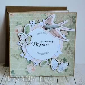 różowe kartki romantyczna kartka - kochanej mamie (1)