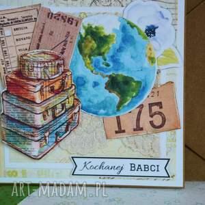 podróże kartka - kochanej babci