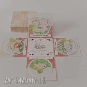 kartki komplet kartka pudełko box