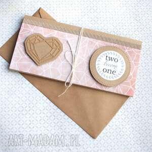 białe kartki kartka - kopertówka:: geometric
