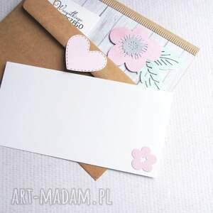 intrygujące kartki ślub kartka kopertówka: pastelowa