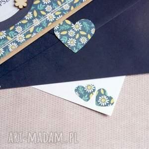 ręcznie wykonane kartki urodziny kartka - kopertówka