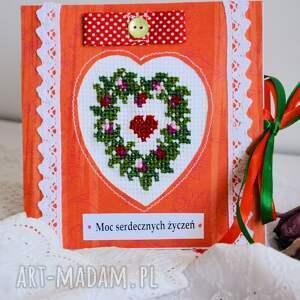 kartki uniwersalna kartka - moc serdecznych życzeń (2