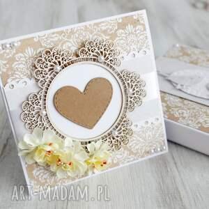gustowne kartki kartka na ślub ub rocznicę
