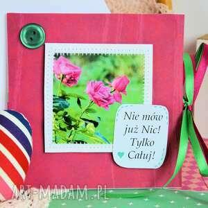 zielone kartki fotografia kartka - nie mów już nic! tylko