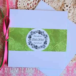 kartka kartki zielone - niech twoja dusza