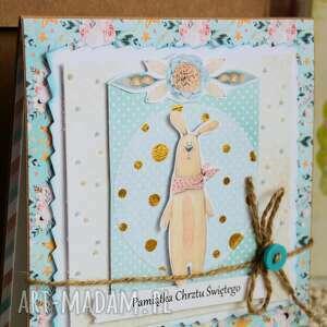kartki dziecko kartka - pamiątka chrztu świętego (
