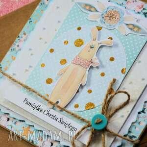 wyjątkowe kartki dziecko kartka - pamiątka chrztu świętego (