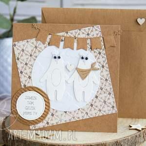 hand made kartki ślub kartka personalizowana z uroczą