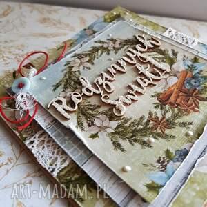 upominki święta zielone kartka rodzinnych świąt