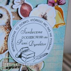 kartka kartki turkusowe - serdeczne podziękowania