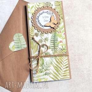 kartki ślub specjalnie na życzenie moich klientów, leśny