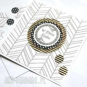 kartki ślub kartka ślubna :: handmade modern