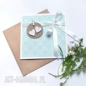 niesztampowe kartki ślub kartka ślubna :: mint:: handmade