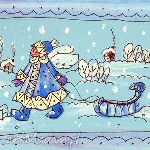 pomysły na prezenty pod choinkę kartka świąteczna - 1 2