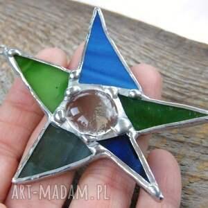 pomysł na upominek na święta gwiazda betlejemska kartka świąteczna 3d z witrażową