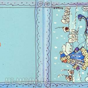 pomysły na prezenty pod choinkę święta kartka świąteczna - 1 2
