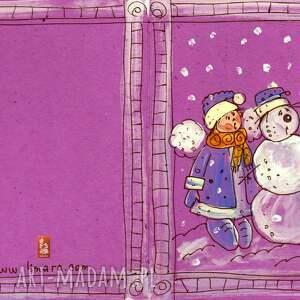 pomysł jaki prezent pod choinkę kartka świąteczna 7 8 9