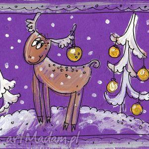 pomysł co pod choinkę kartka świąteczna 4 5