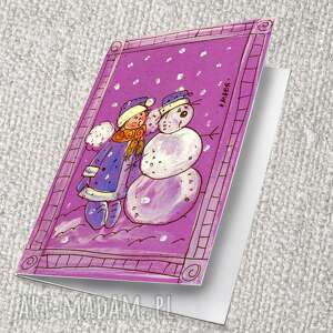 pomysł jaki prezent pod choinkę marinaczajkowska kartka świąteczna 7 8 9