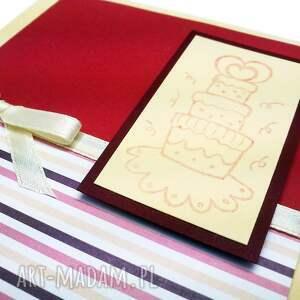 ręcznie wykonane kartki kartka uroszinowa