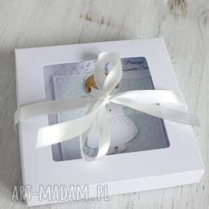 kartki kartka z konikiem - w pudełku