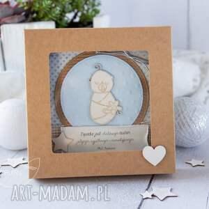 beżowe kartki chrzest kartka z okazji narodzin, chrztu