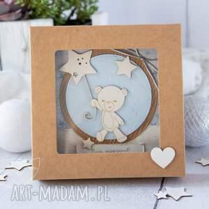 niebieskie kartki roczek kartka z okazji roczku, urodzin