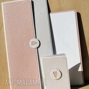 białe kartki jubileusz kopertówka ślubna plus bilecik do